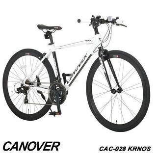 【新品】カノーバークロスバイク自転車21段変速CAC...