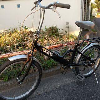20インチの折り畳み自転車です。外装6段ギア付き⑥