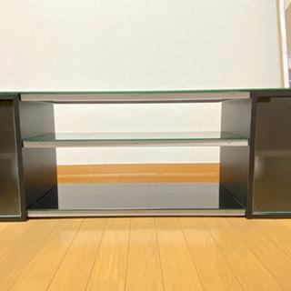 再値下げ🥺美品!ガラス3面ありのテレビボード