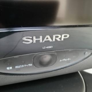 SHARP  40型液晶テレビ+おまけ付 - 佐賀市