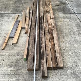 木材差し上げます