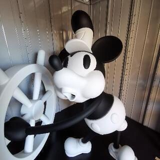 蒸気船ウィリー ミッキーマウス ビッグ フィギュア 置物 …
