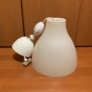 IKEA 照明(E 26対応)+コードリール ホワイト