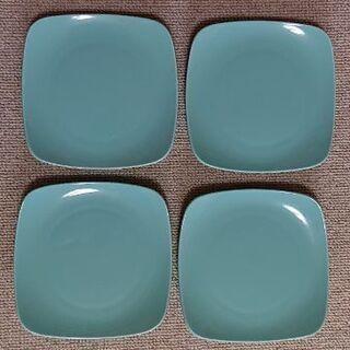 【未使用】陶器 美濃焼 小皿 4皿