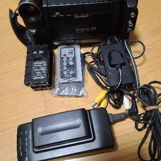 SHARP 8mmビデオカメラ