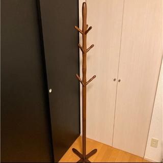 ポールハンガー   ハンガーラック 木製