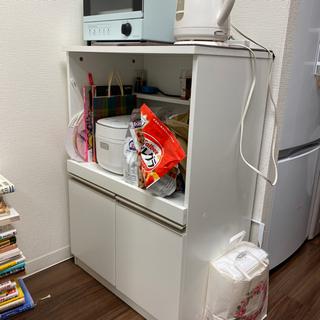 ニトリ 炊飯器台 キッチンボード