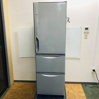 【HITACHI】 日立 ノンフロン冷凍冷蔵庫 R-K320GV(S) 3ドア 315L 2016年製の画像