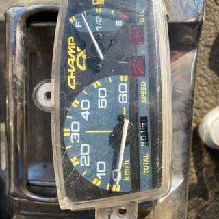 チャンプcx スピードメーター