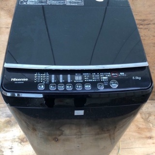【値段交渉可】ハイセンス洗濯機5.5キロ