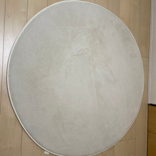 【直径140cm】円形ラグ