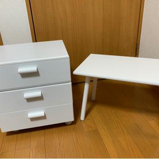 ドレッサーボックス&スクエアテーブル