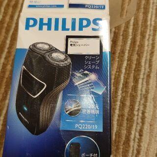 PHILIPSフィリップスPQ220/19充電式電動シェーバーひ...