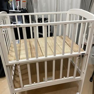 【ネット決済】カトージ ベビーベッド ミニ立ちベッド未使用