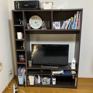 【10/20まで】ニトリ テレビボード 棚付き