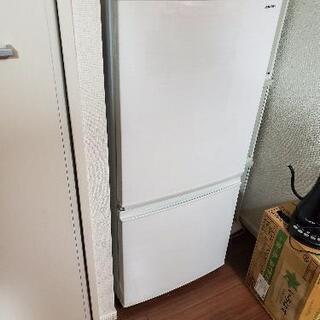 【SHARP】冷蔵庫 【2017年製 137L】