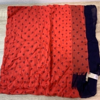 BANANA REPUBLIC スカーフ オレンジ 未使用