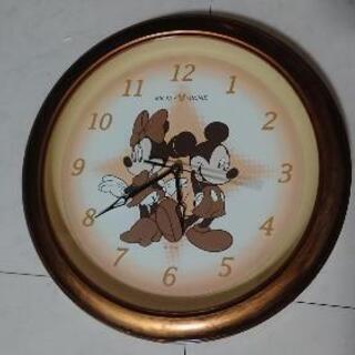 ミッキーの壁時計
