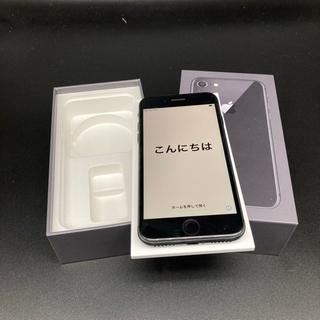★SIM解除済★iPhone8 64GBスペースグレイ箱セ…