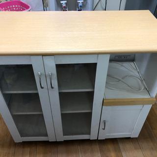 食器棚〔キッチンカウンター〕