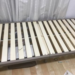 シングルベッド すのこベッド 半年使用