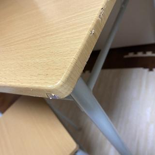 お取引中!ダイニングテーブルセット 椅子二脚あげます 10月7日まで - 葛飾区