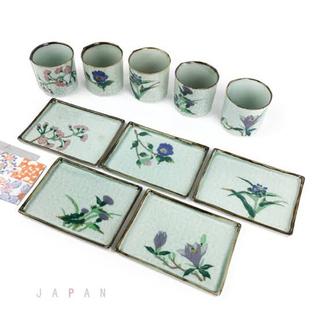 有田焼◆新品◆お湯呑み&小皿10点セット