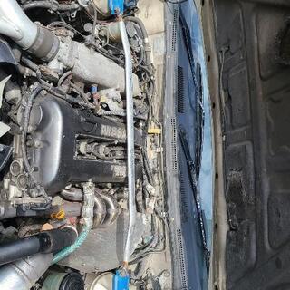 【ネット決済】シルビア S14エンジンルーム