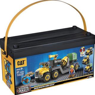 CAT 工事車両組み立てセット マシーンメーカー 2箱分