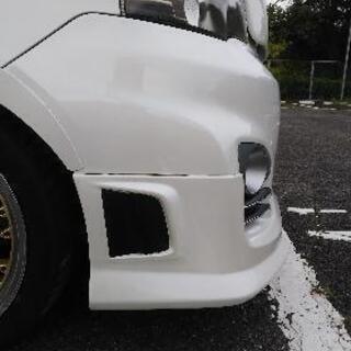 ヴォクシー70後期 ROJAMフロントスポイラー - 車のパーツ