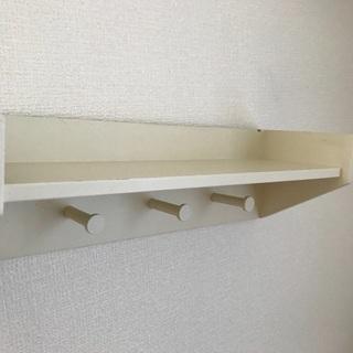 【ネット決済】2個セット!フック付き壁面収納