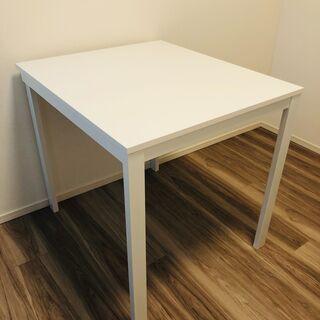 IKEA 伸長式テーブル 白