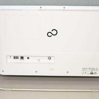 中古品 一体型パソコン Window s10+office 富士通 FH56/B3 core i3-7100U/爆速SSD256GB+中古HDD1TB/メモリ8GB/23.8インチ/無線/テ レビ機能 - 板橋区