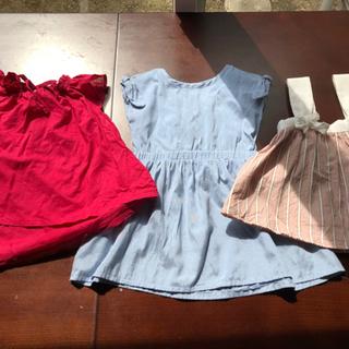 女の子 夏服 80-90