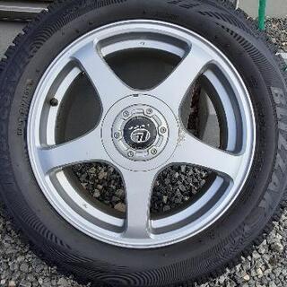 【受付終了】スタッドレスタイヤ4本セット - 売ります・あげます