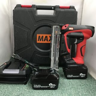 MAX 充電フィニッシュネイラ TJ-35FN2 中古品 店内特価