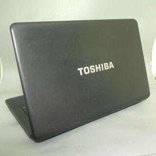 新品高速SSD ノートパソコン 中古良品 17型 ワイド液晶 TOSHIBA 東芝 dynabook B771/C Core i5 8GB DVDマルチ 無線 Windows10 Office - 売ります・あげます