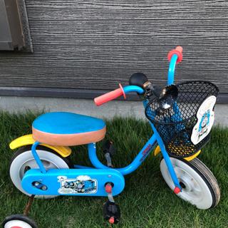 【ネット決済】トーマス 補助輪付き自転車