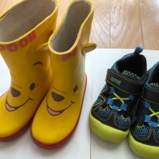 子供長靴、サンダル14cm〜14.5cm 500円〜