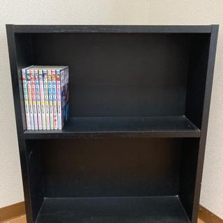 本棚向け カラーボックス 黒
