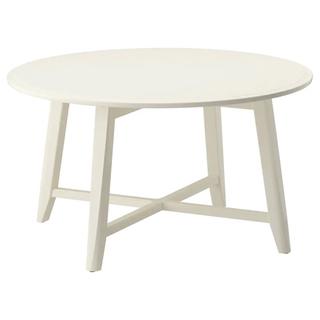 【お譲り】IKEA ローテーブル(ホワイト)