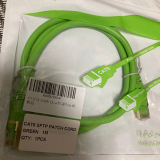 新品未開封 Hiipeak  ケーブル CAT8  1m  パッケージ