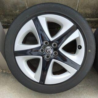 プリウス50 純正アルミホイール 17インチ(タイヤ付き) - 車のパーツ