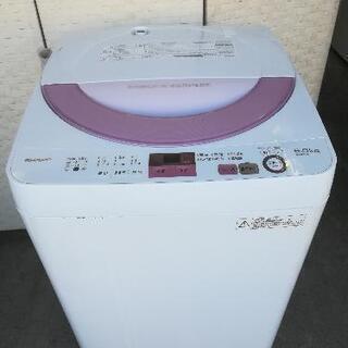 【送料無料】SHARP 洗濯機⭐6kg⭐JJ69