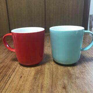 フランス雑貨 HEMAのマグカップ2個