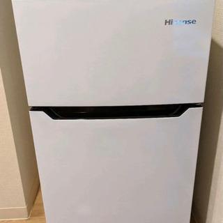 冷蔵庫 ハイセンス 2018年製 ●品番 HR-B95A