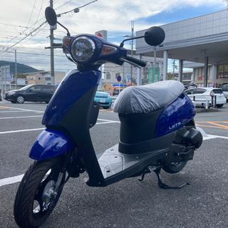 新車❗️スズキ レッツ 2年間のメーカー保証つき【文句なしのピカ...