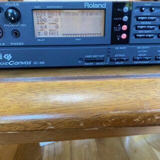 音源 SC-88 ROLAND SOUND CANVAS (DT...