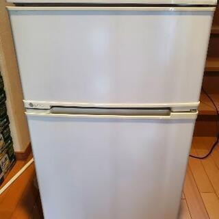 U-ING(ユーイング)冷蔵庫 88L 右開き 2ドア U…