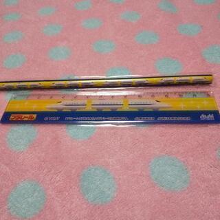 プラレール 新幹線鉛筆 定規 トミー
